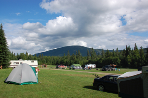 Camping at Mount Carleton Park
