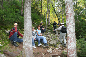 photo of Hikers at Mount Carleton Park